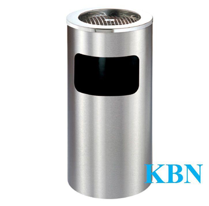 THÙNG RÁC INOX GẠT TÀN THUỐC KBN-SN63