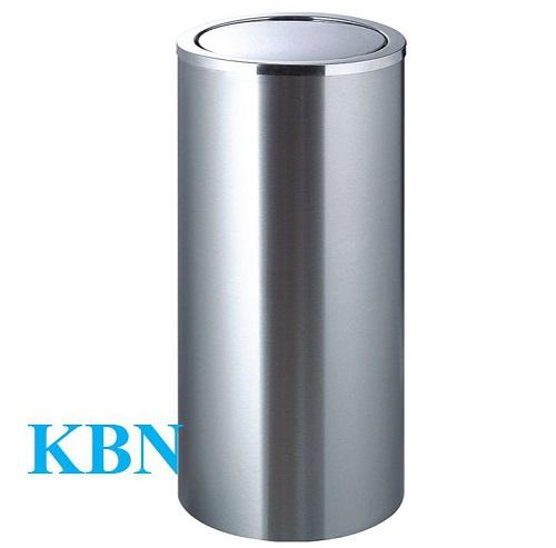 THÙNG RÁC INOX NẮP BẬP BÊNH KBN-SN56